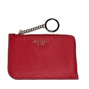 Kate Spade Saffiano Leather Coin Purse Key Chain